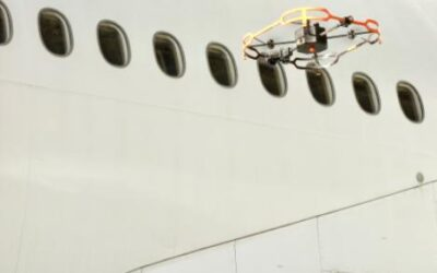AAR Testing Drones For Aircraft Inspection In Miami