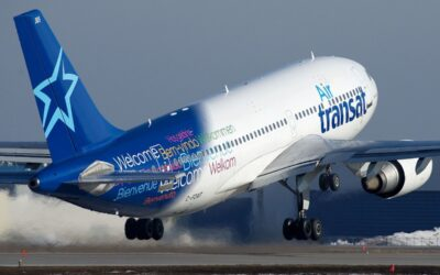 Air Transat Operates Its First Airbus A321LR Service To London