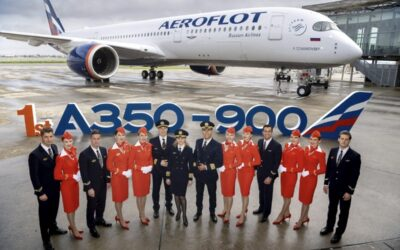 Aeroflot's First Airbus A350 Cabin Review – Spacious With A Touch Of Class