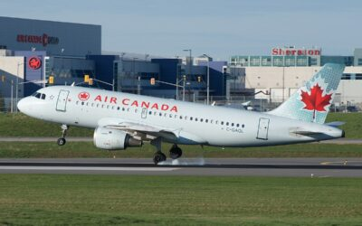 Wheel Falls Off Of Air Canada Airbus A319 Before Toronto Landing