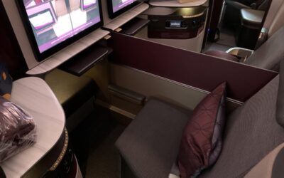 Qatar Airways Boeing 777 QSuite Review – 16 Hours From Doha To Los Angeles