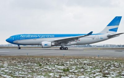 Aerolineas Argentinas Flies Its First Flight To China With An A330