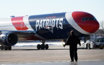Patriots Lend Their Boeing 767 To Transport Masks From China
