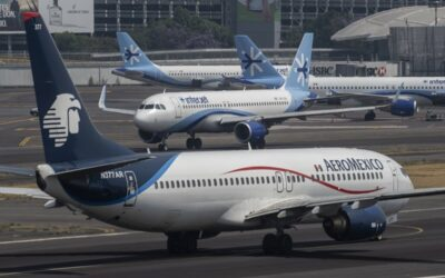 Aeromexico's 91% Traffic Decrease Paints A Dark Outlook For Mexican Aviation