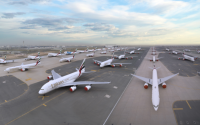Emirates Has Been Flying Airbus A380s 30 Miles For Storage