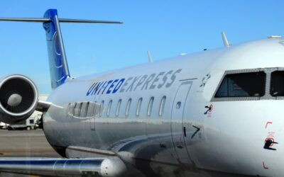 United Express CRJ200 Performs Flaps Up Landing In Calgary