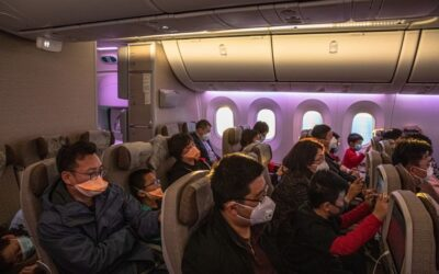 Blocking Middle Seats Cuts Virus Spread Almost In Half Says MIT Study