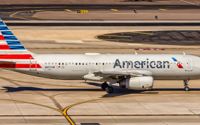 American Airbus A320 Lands In San Antonio With Engine Fire
