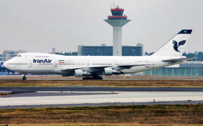 Iran Air Refurbishes One Of Its Boeing 747s