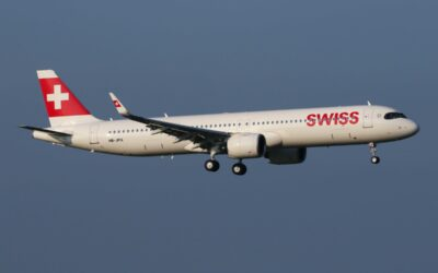 SWISS Takes Its First Airbus A321neo